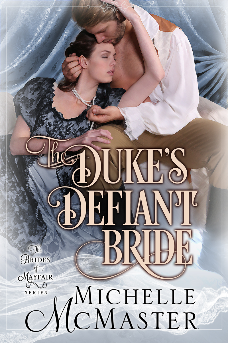 Book Cover: The Duke's Defiant Bride